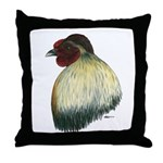 Mapuche Rooster Throw Pillow