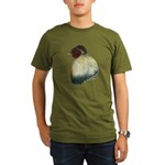 Mapuche Rooster Organic Men's T-Shirt (dark)