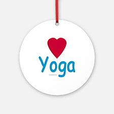 Heart Yoga - Gift Ornament/Keepsake