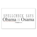Spellcheck Says... Rectangle Sticker 50 pk)