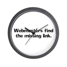 Webmasters find the missing Wall Clock
