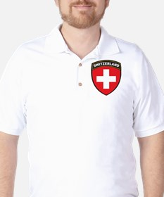 Switzerland Golf Shirt