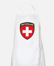 Switzerland BBQ Apron