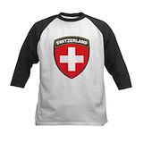 Swiss Long Sleeve T Shirts