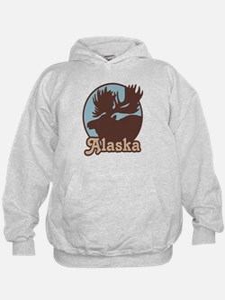 Alaska Moose Hoody