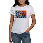 Tropical Parrot Women's T-Shirt