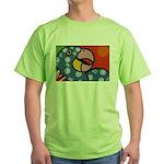 Tropical Parrot Green T-Shirt