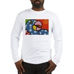 Tropical Parrot Long Sleeve T-Shirt