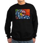 Tropical Parrot Sweatshirt (dark)