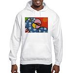 Tropical Parrot Hooded Sweatshirt