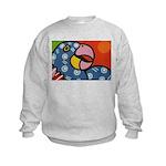 Tropical Parrot Kids Sweatshirt