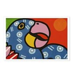 Tropical Parrot Postcards (Package of 8)