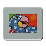 Tropical Parrot Mousepad