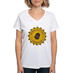 Certified Genealogy Nut Shirt