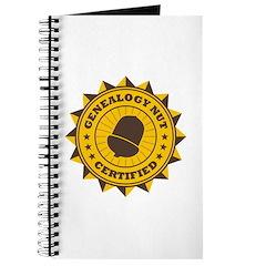 Certified Genealogy Nut Journal