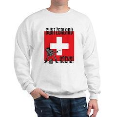 Butterfly Switzerland Sweatshirt