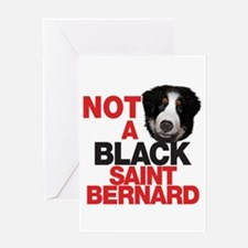 It's a BERNese Mountain Dog Greeting Card
