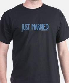 Just Married - Black T-Shirt