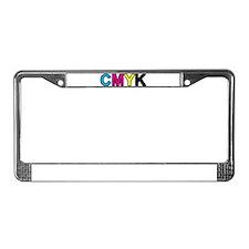 Unique Color image License Plate Frame