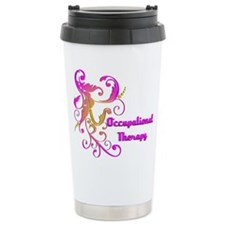 Scroll Leaf Designs Travel Mug