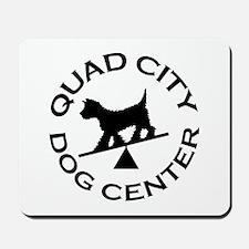 QC Dog Center Mousepad