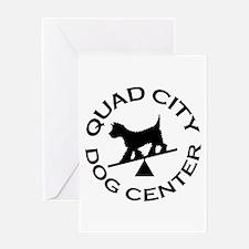 QC Dog Center Greeting Card