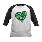 Have you Hugged a Tree Kids Baseball Jersey