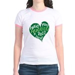 Have you Hugged a Tree Jr. Ringer T-Shirt