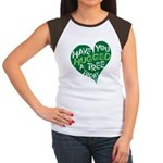Have you Hugged a Tree Women's Cap Sleeve T-Shirt