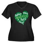 Have you Hugged a Tree Women's Plus Size V-Neck Da