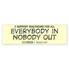 Health Care Reform Bumper Bumper Sticker