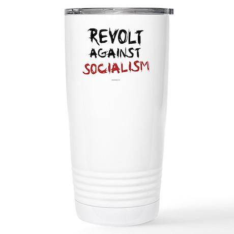 Revolt Against Socialism Stainless Steel Travel Mu