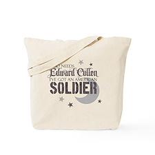 Who Needs Edward Cullen - I'v Tote Bag