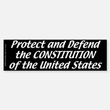 Constitutional Oath (Bumper Sticker)