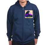 Sumatran Zip Hoodie (dark)