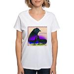 Sumatran Women's V-Neck T-Shirt