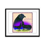 Sumatran Framed Panel Print