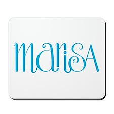 Marisa turquoise blue Mousepad