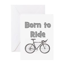 Unique Born run Greeting Card