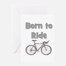 Cool Baby race Greeting Card
