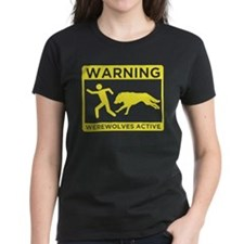 Warning: Werewolves Tee