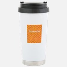 Samantha Personalized Stainless Steel Travel Mug