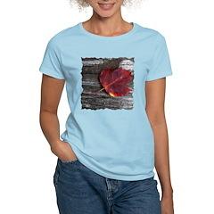 Red Autumn Leaf T-Shirt