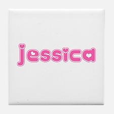 """Jessica"" Tile Coaster"