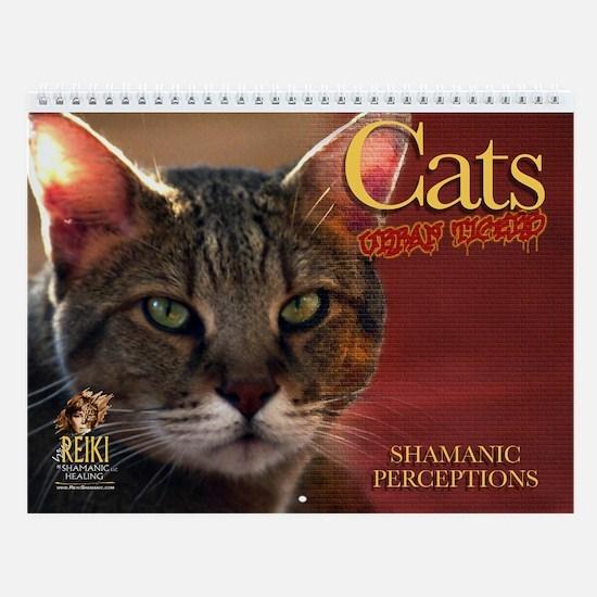 Cats: Urban Tigers Wall Calendar