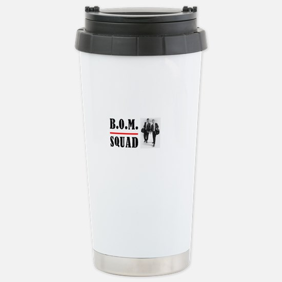 B.O.M. Squad Stainless Steel Travel Mug