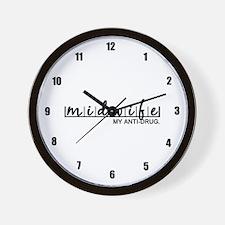 Midwife, My Anti-Drug Wall Clock