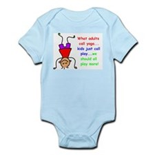 headstand kid (1200 x 888) Body Suit