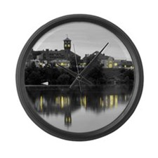Large Skyline Wall Clock