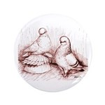"Tumbler Pigeons 3.5"" Button (100 pack)"